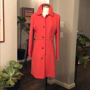 J. Crew double cloth lady day coat